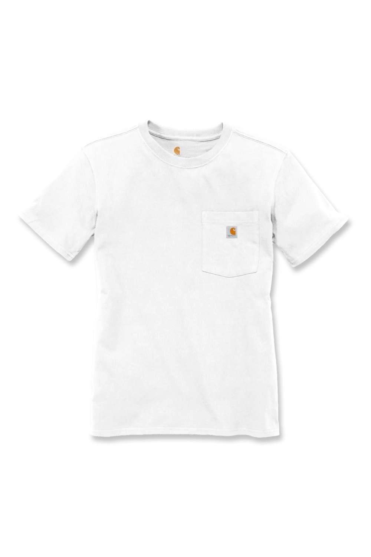 Carhartt Womens Pocket T-Shirt : White