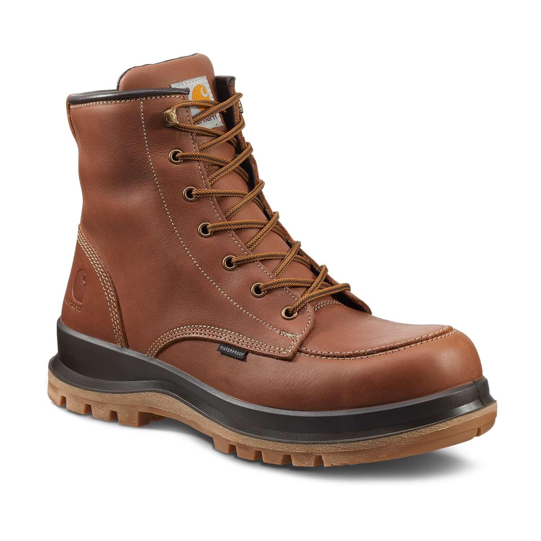 Carhartt Hamilton Waterproof Safety Boot : Tan - VAT FREE
