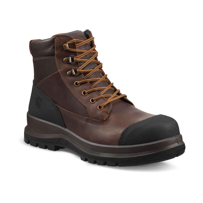 """Carhartt Detroit 6"""" Safety Boot : Dark Brown - VAT FREE"""