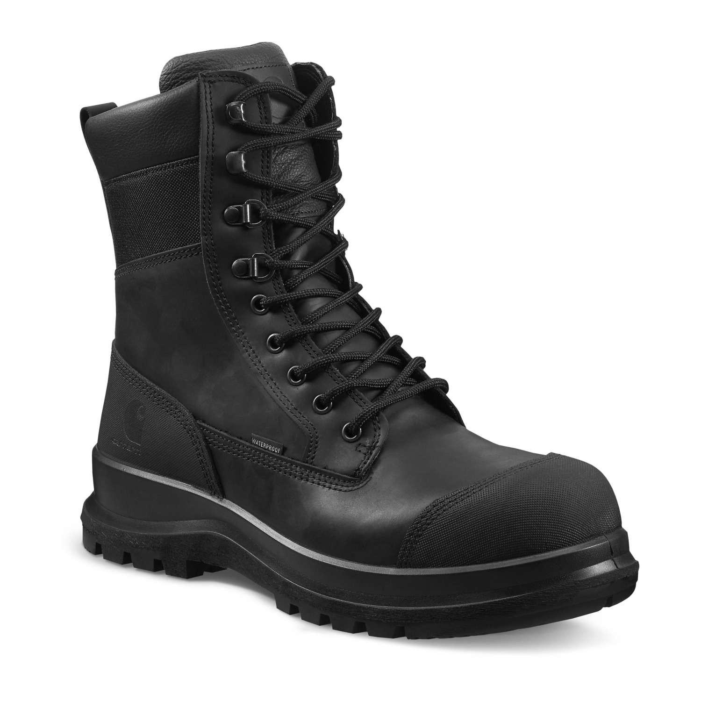"Carhartt Detroit 8"" Safety Boot : Black - VAT FREE"