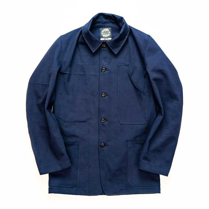 Yarmouth Oilskins Machanics Jacket  : Navy