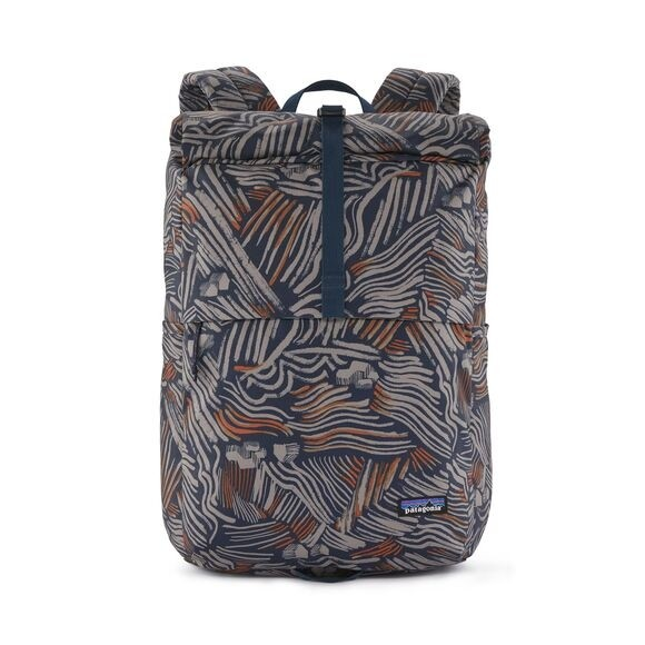 Patagonia Arbor Roll Top Pack 30L : Hut to Hut Multi: New Navy