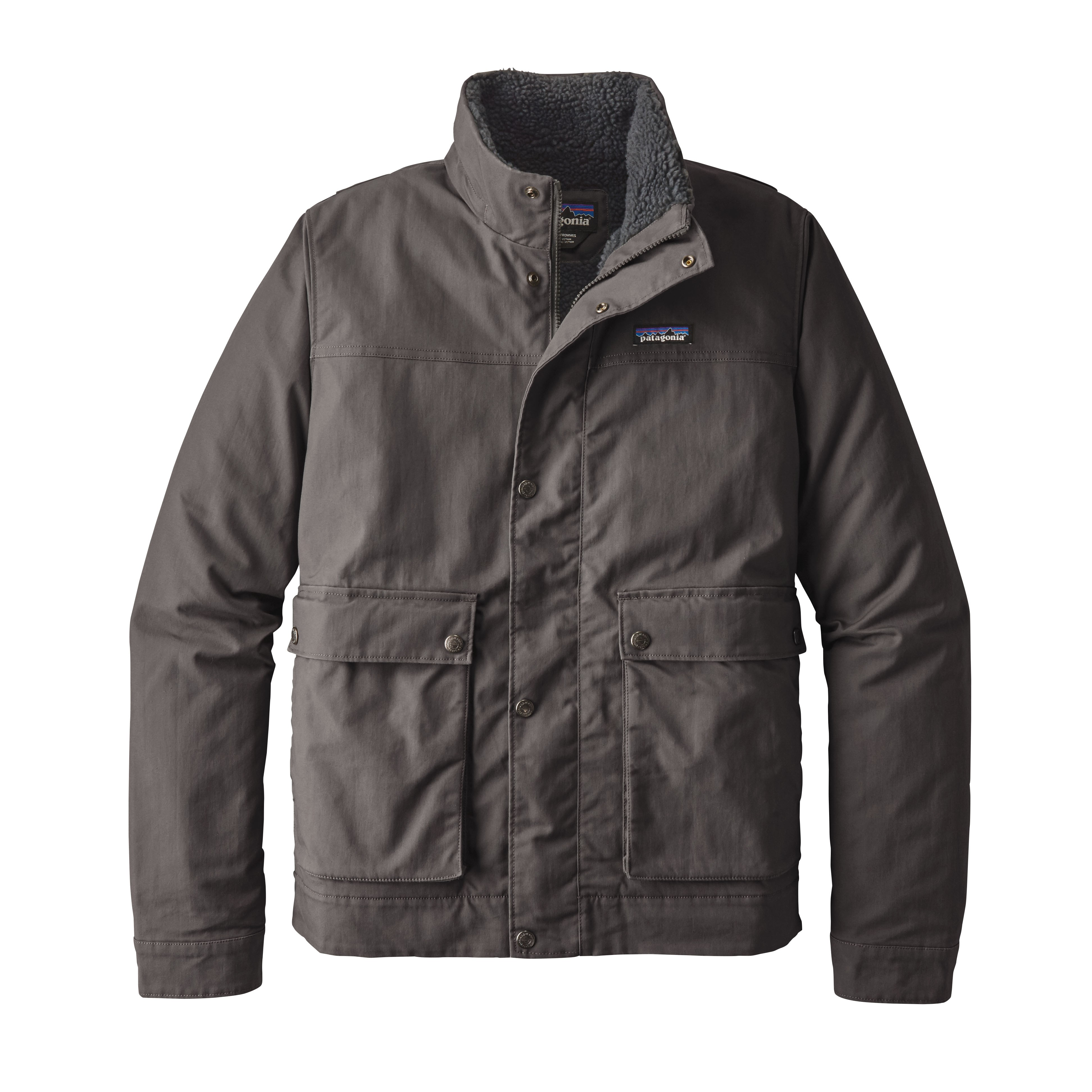 Patagonia Mens Forge Grey Maple Grove Canvas Jacket