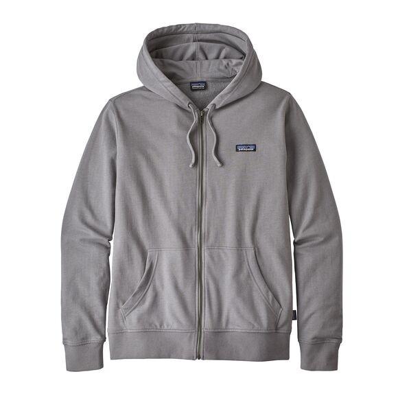 Patagonia Men's P-6 Label Lightweight Full-Zip Hoody : Feather Grey