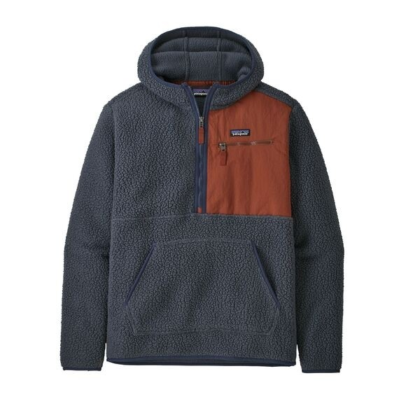 Patagonia Men's Retro Pile Fleece Pullover : Smoulder Blue