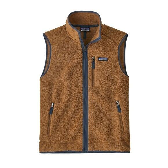 Patagonia Men's Retro Pile Fleece Vest : Bear Brown