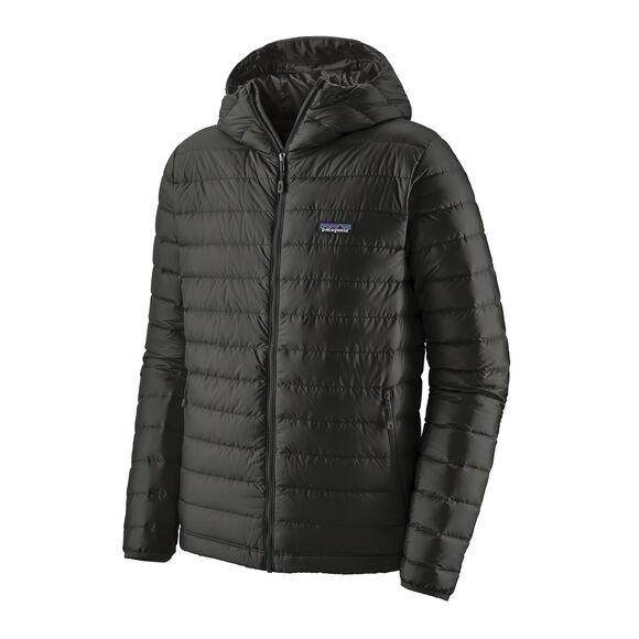 Patagonia Mens Down Sweater Hoody : Black