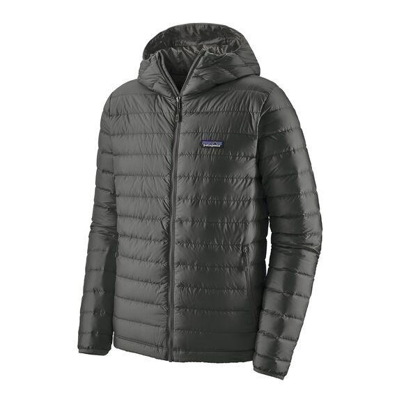 Patagonia Mens Down Sweater Hoody : Forge Grey