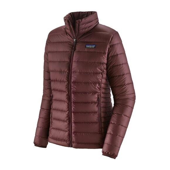 Patagonia Women's Down Sweater: Dark Ruby