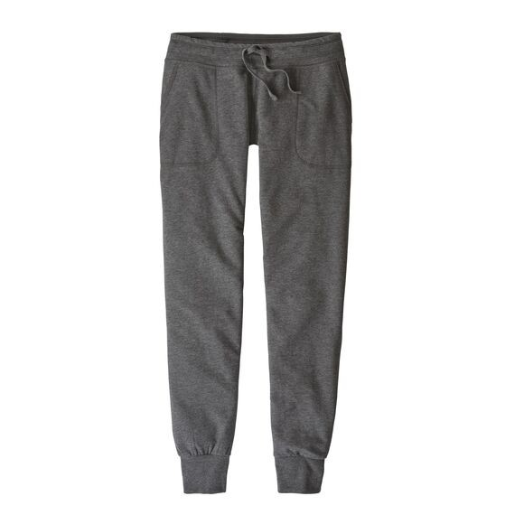 Patagonia Women's Ahnya Fleece Pants : Forge Grey
