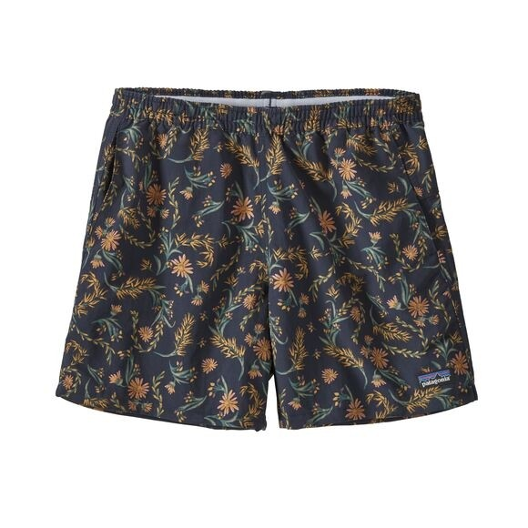 "Patagonia Women's Baggies Shorts - 5"" : Seeded Multi: New Navy"