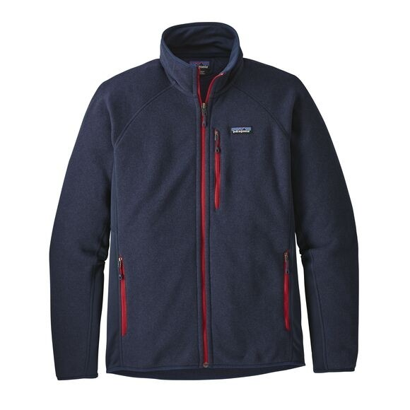 Patagonia Mens Performance Better Sweater Fleece Jacket : Navy Blue