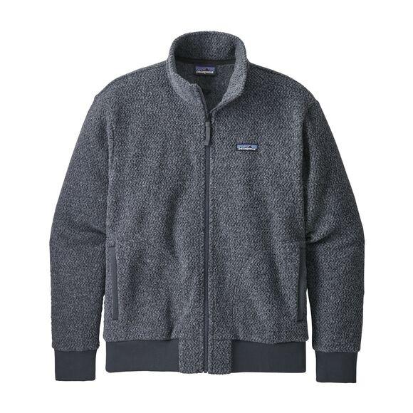 Patagonia Men's Woolyester Fleece Jacket : Forge Grey
