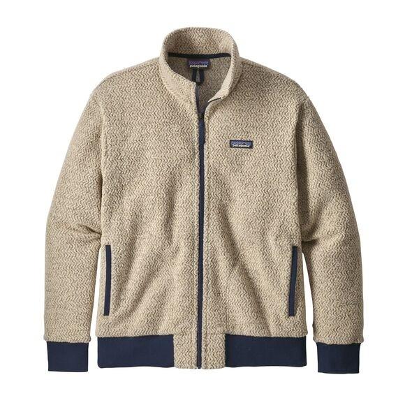 Patagonia Men's Woolyester Fleece Jacket : Oatmeal Heather