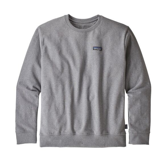 Patagonia  P-6 Label Uprisal Crew Sweatshirt : Gravel Heather