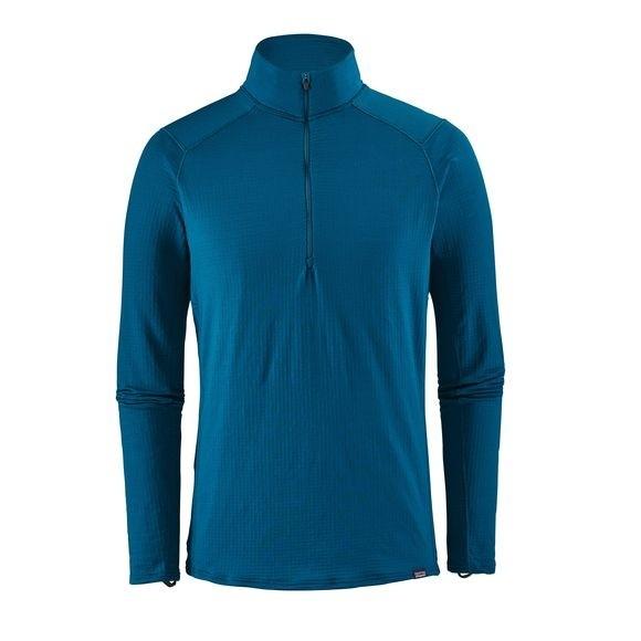 Patagonia Capilene Thermal Weight Zip-Neck : Big Sur Blue