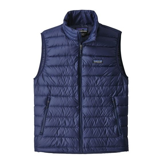 Patagonia Mens Down Sweater Vest : Classic Navy