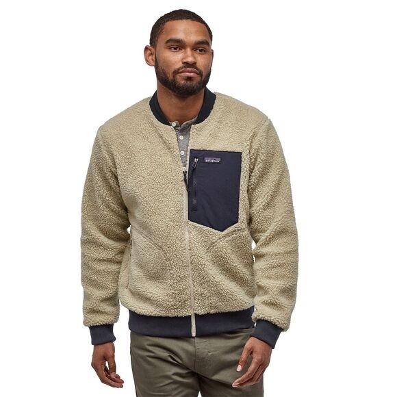 Patagonia Men's Retro-X™ Fleece Bomber Jacket : Pelican