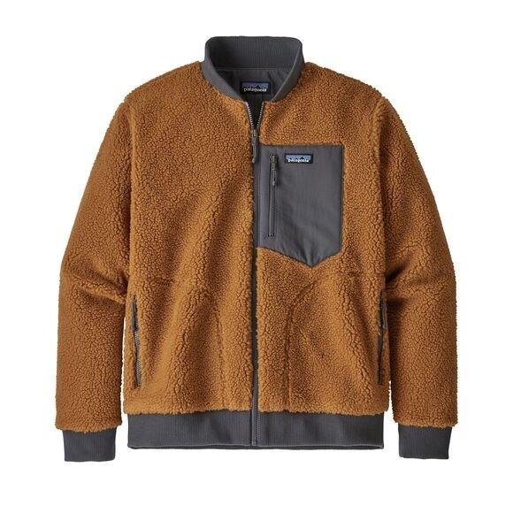 Patagonia Men's Retro-X™ Fleece Bomber Jacket : Wren Gold