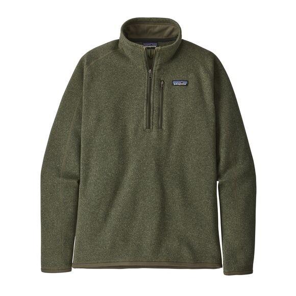 Patagonia Men's Better Sweater™ 1/4-Zip Fleece : Industrial Green