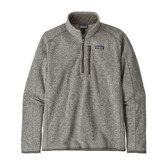 Patagonia Men's Better Sweater™ 1/4-Zip Fleece : Stonewash