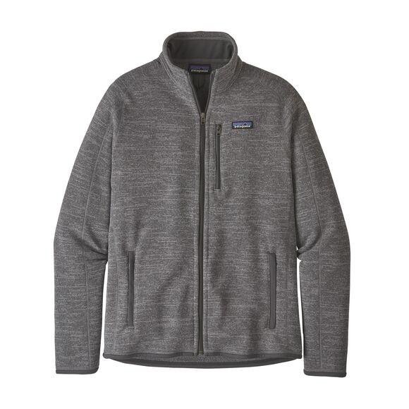 Patagonia Men's Better Sweater Fleece Jacket : Nickel