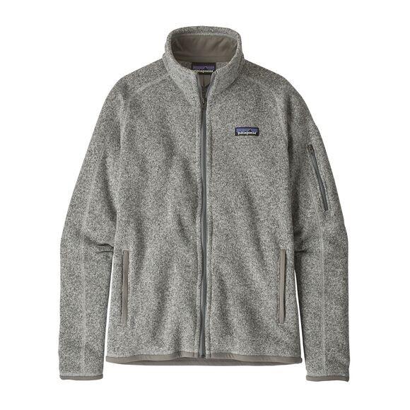 Patagonia Women's Better Sweater Fleece Jacket : Birch White