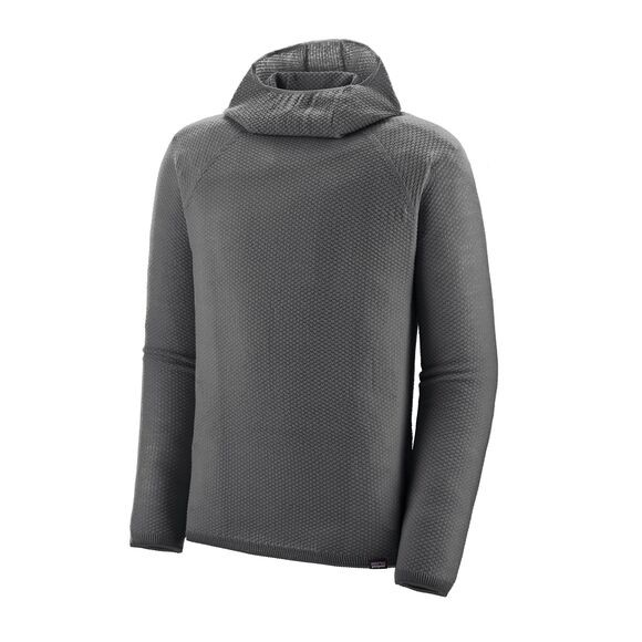Patagonia Mens Capilene Air Hoody : Forge Grey / Feather Grey