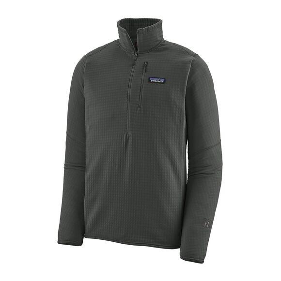 Patagonia Men's R1® Fleece Pullover : Forge Grey