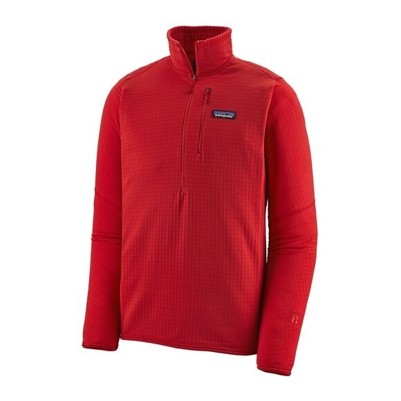 Patagonia Men's R1® Fleece Pullover : Fire