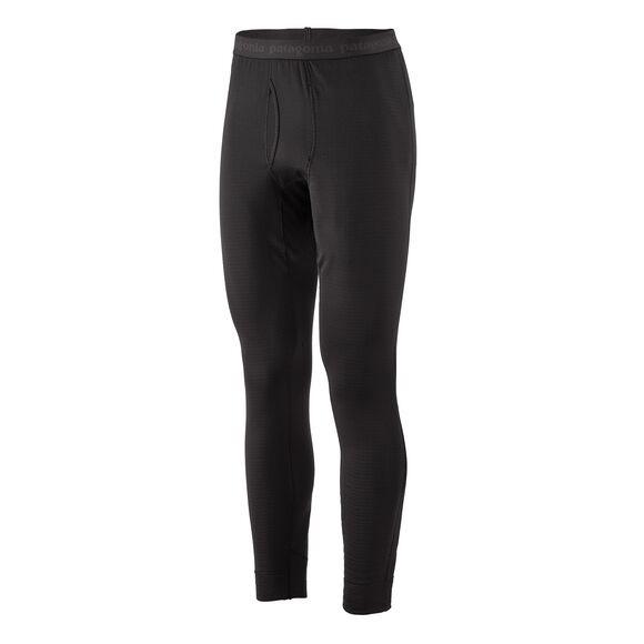 Patagonia Mens Capilene Thermal Weight Bottoms : Black