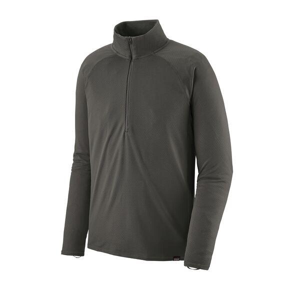 Patagonia Men's Capilene Midweight Zip-Neck : Forge Grey