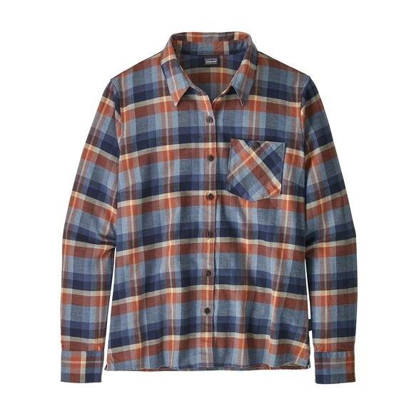 Patagonia Heywood Flannel Shirt  Basket: New Navy