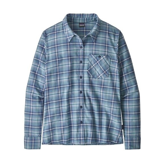 Patagonia Heywood Flannel Shirt : Sprout : Woolly Blue