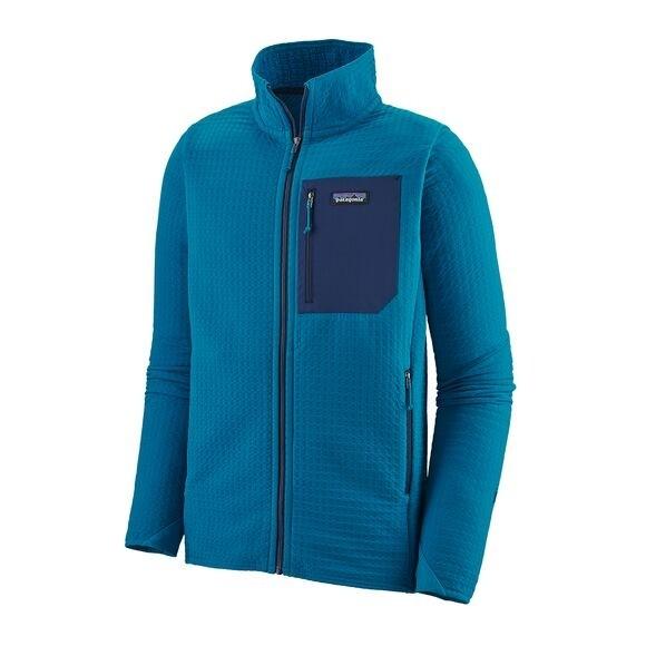 Patagonia Men's R2 TechFace Jacket : Balkan Blue