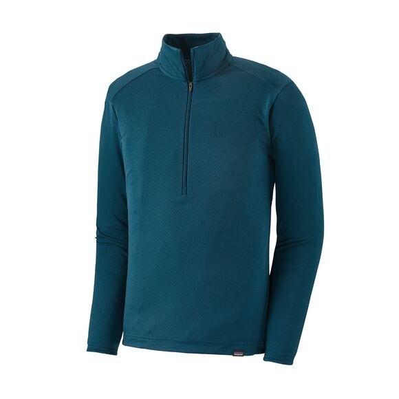 Patagonia Men's Capilene Midweight Bike Jersey : Crater Blue