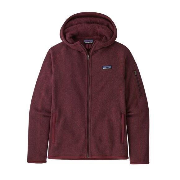 Patagonia Women's Better Sweater Fleece Hoody : Chicory Red