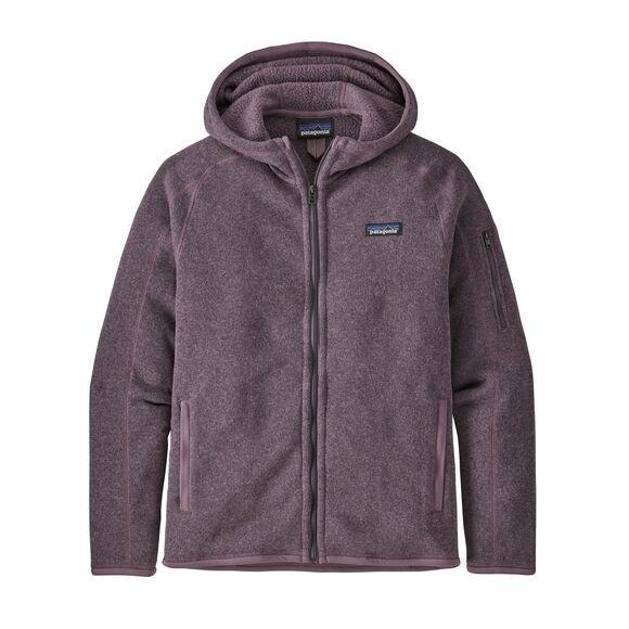 Patagonia Women's Better Sweater Fleece Hoody : Hyssop Purple