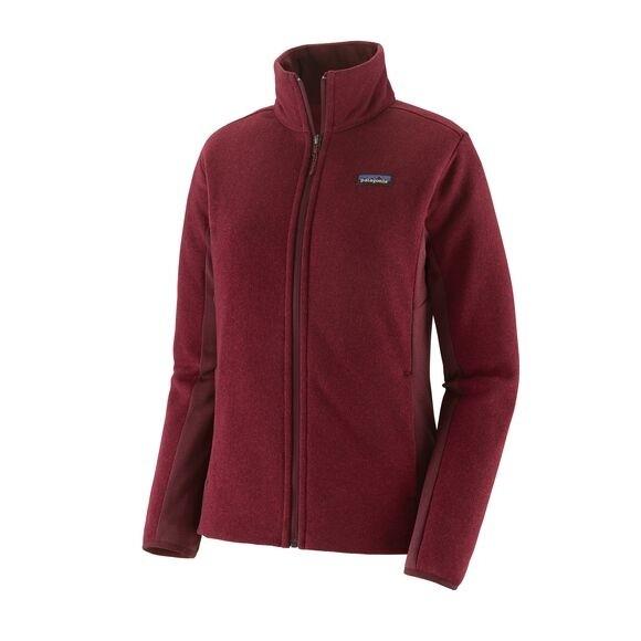 Patagonia Patagonia Women's Lightweight Better Sweater Fleece Jacket: Roamer Red