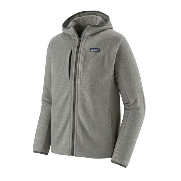 Patagonia Men's Lightweight Better Sweater Fleece Hoody : Feather Grey