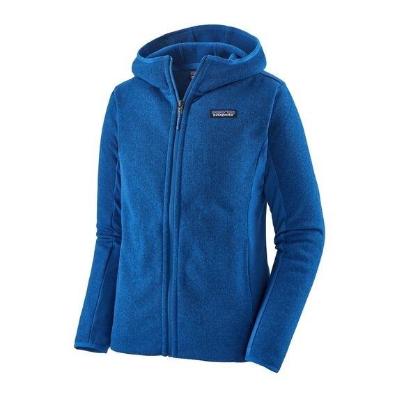 Patagonia Women's Lightweight Better Sweater Fleece Hoody : Alpine Blue