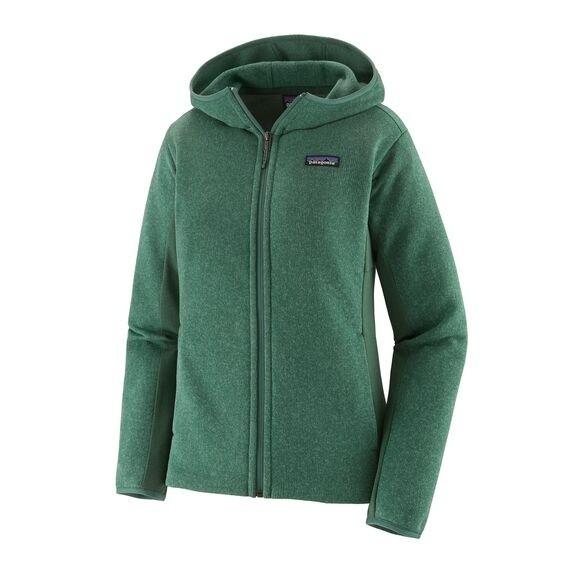 Patagonia Women's Lightweight Better Sweater Fleece Hoody : Regent Green