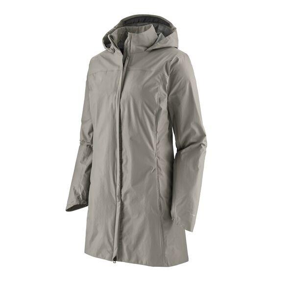 Patagonia Women's Torrentshell 3L Waterproof City Coat : Salt Grey