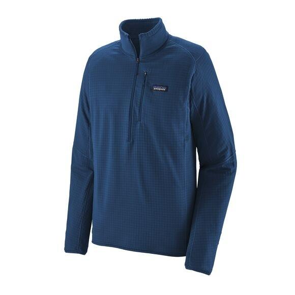 Patagonia Men's R1® Fleece Pullover : Superior Blue
