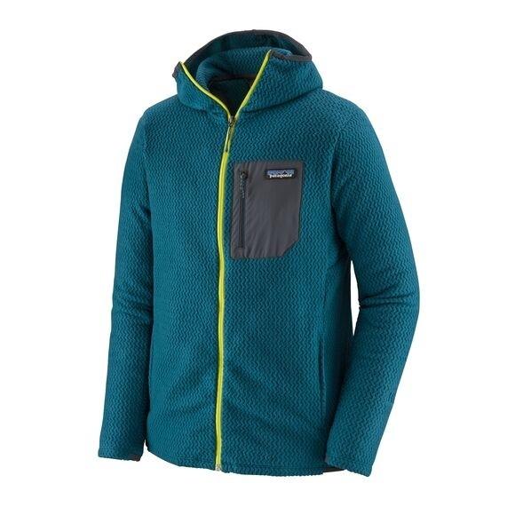 Patagonia Men's R1® Air Full-Zip Hoody : Crater Blue
