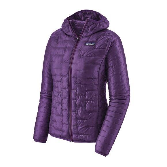 Patagonia Women's Micro Puff Hoody : Purple