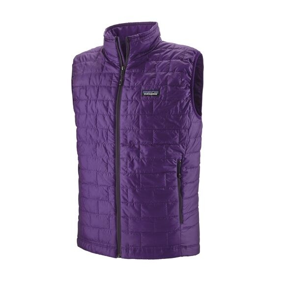 Patagonia Nano Puff Vest : Purple