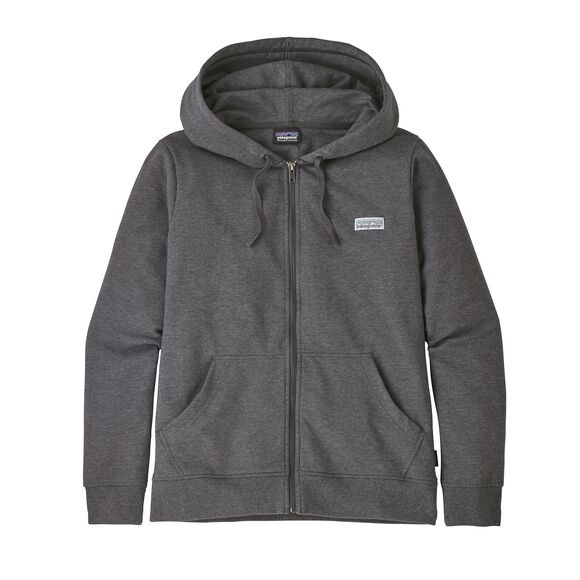 Patagonia P-6 Label Ahnya Full-Zip Hoody : Forge Grey