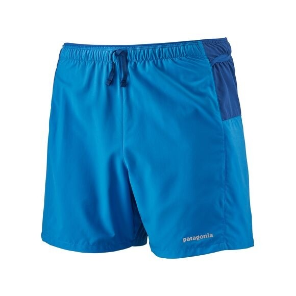"""Patagonia Men's Strider Pro Running Shorts - 5"""" : Andes Blue"""