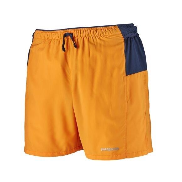 """Patagonia Men's Strider Pro Running Shorts - 5"""" : Mango"""